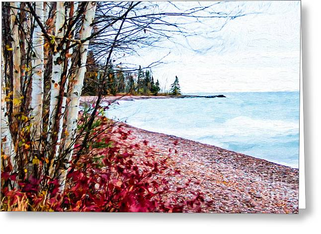 Fall On Lake Superior Greeting Card