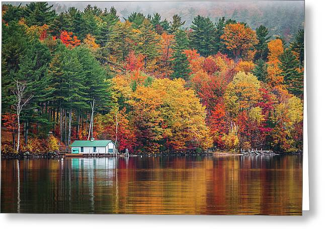 Fall On Lake Winnipesaukee Greeting Card
