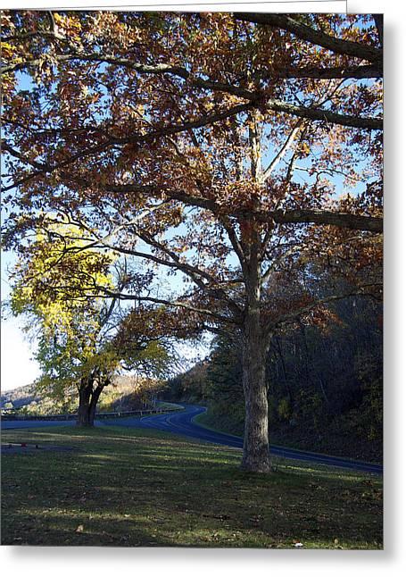Fall On The Blue Ridge Greeting Card