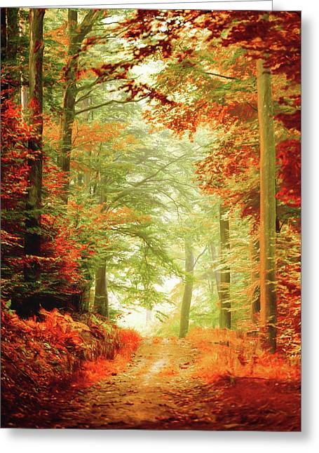 Fall Painting Greeting Card
