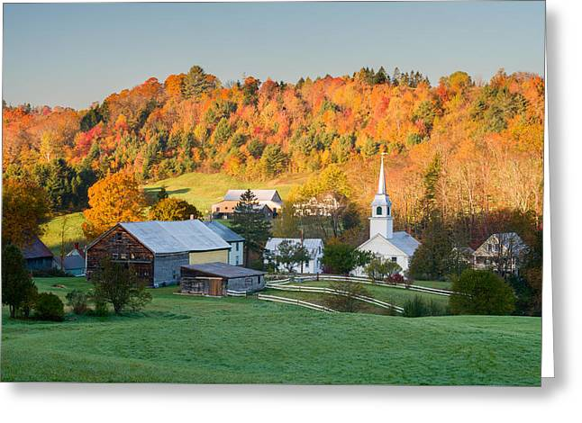 Fall Pastoral Greeting Card