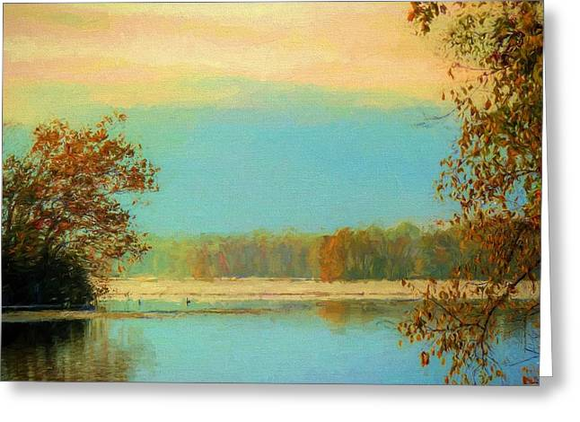 Fall Serenity  Greeting Card by JC Findley