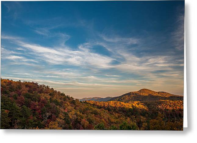 Fall Skies Greeting Card