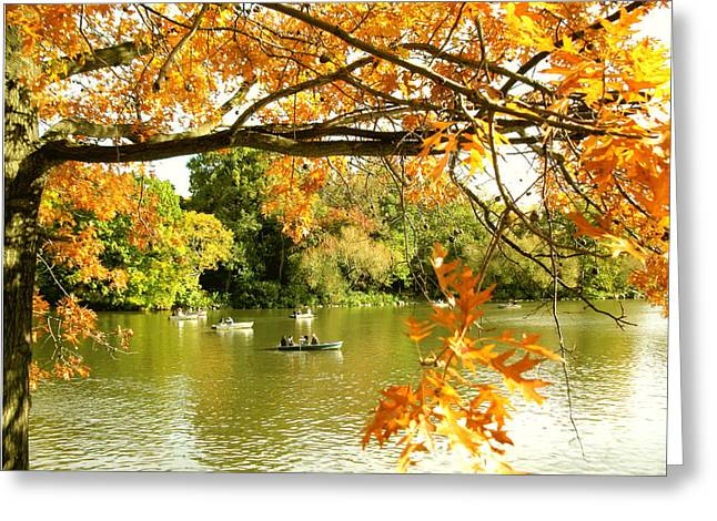 Fall Greeting Card by Yannick Guerin