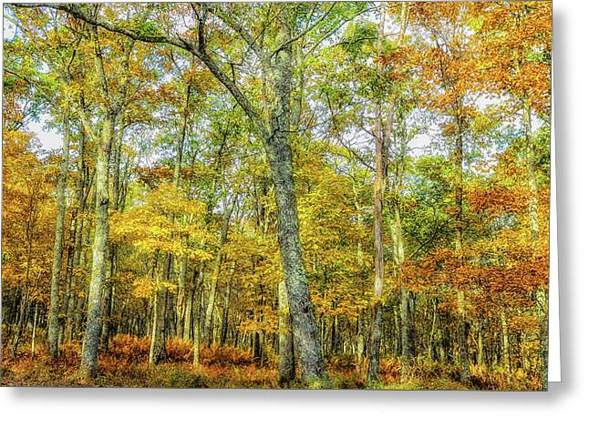 Fall Yellow Greeting Card