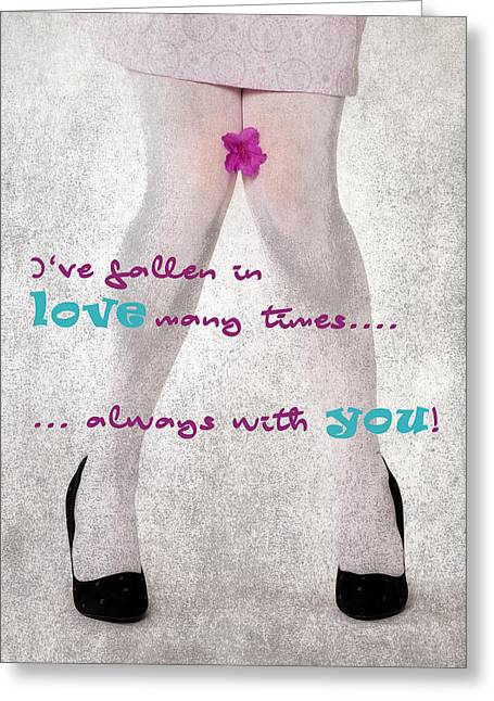 Fallen In Love Greeting Card
