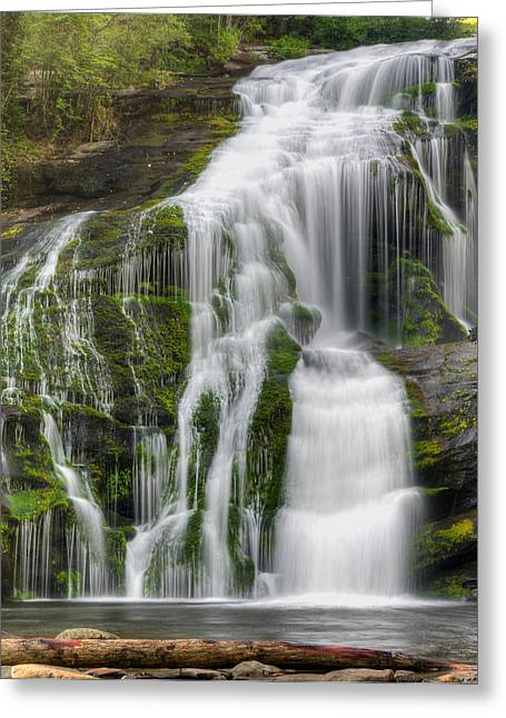 Falling Dream Greeting Card by Darrell Young