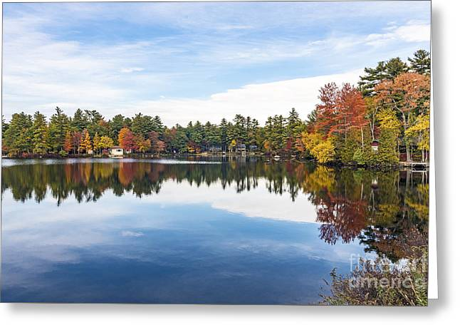 Greeting Card featuring the photograph Falling For New Hampshire by Anthony Baatz