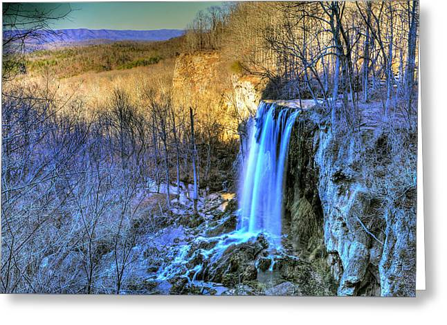 Falling Spring Falls Greeting Card