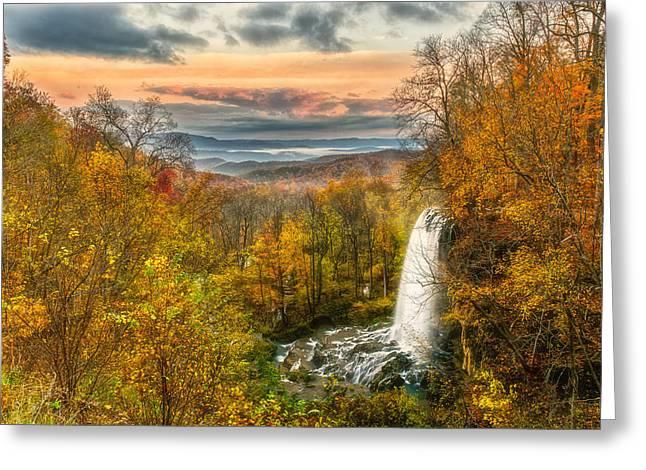 Falling Spring Falls Greeting Card