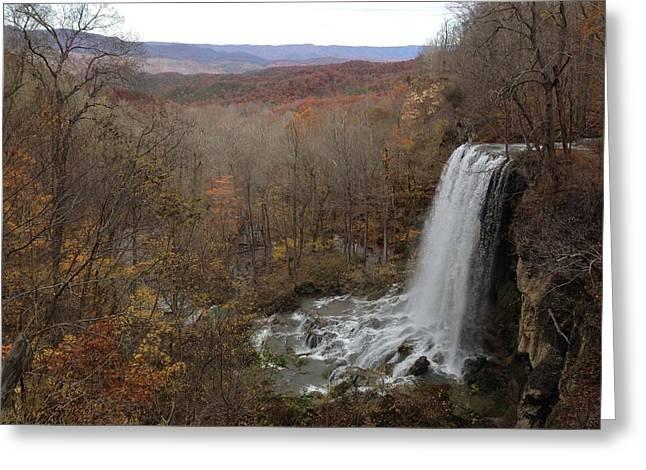 Falling Spring Falls, Va Greeting Card