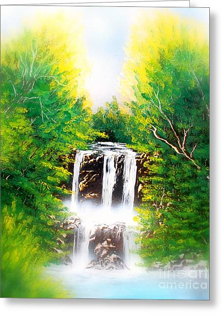 Falls 02 E Greeting Card