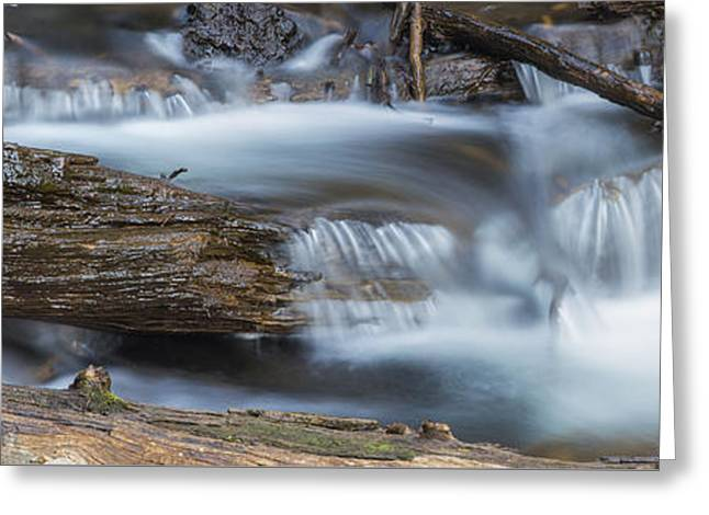 Falls Along Soda Creek Greeting Card