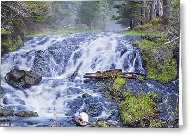 Falls At Todd Lake Greeting Card