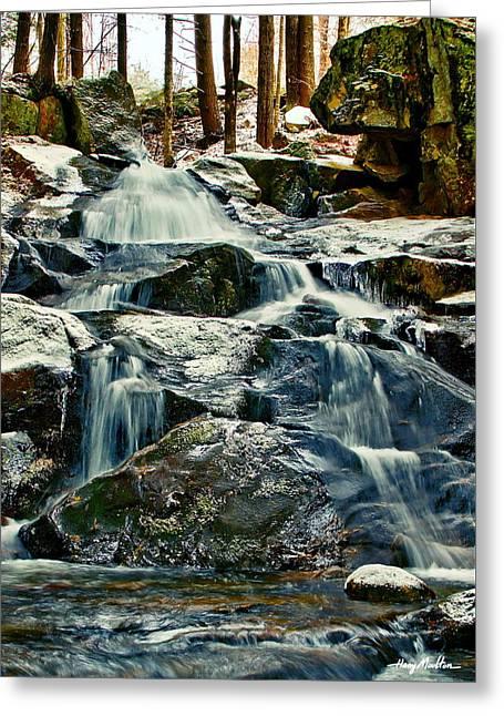 Falls Of Fogg Brook Greeting Card