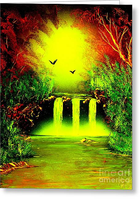 Falls08 E1 Greeting Card