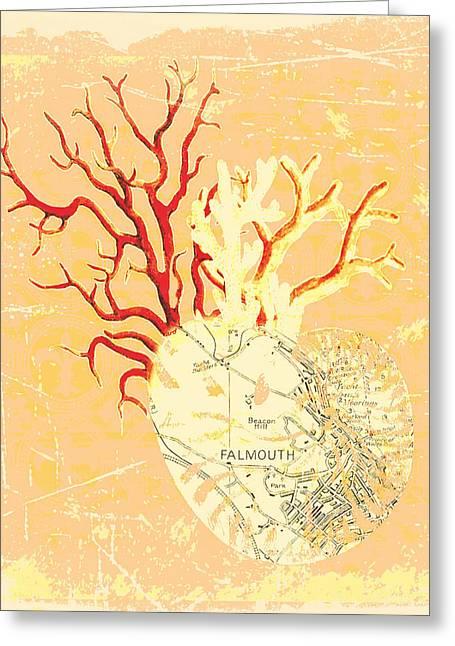 Falmouth Mass V2 Greeting Card