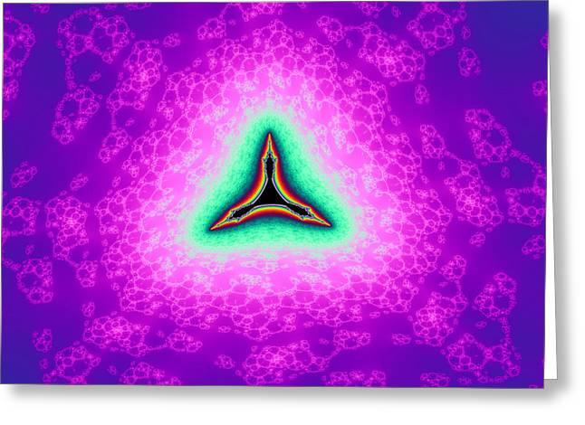 False Tricorn Byways No. 9 Greeting Card by Mark Eggleston