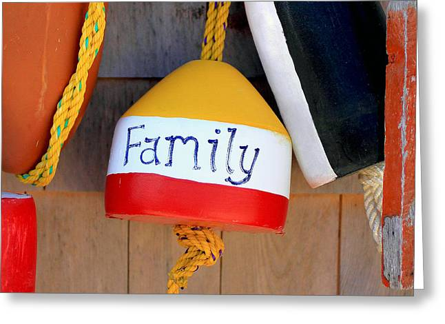 Family Buoy Greeting Card