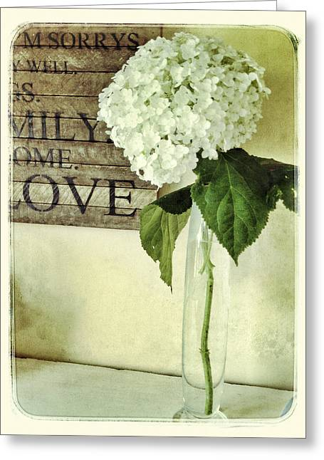 Family, Home, Love Greeting Card