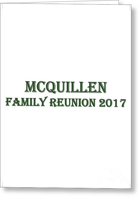 Family Reunion 2017 Greeting Card