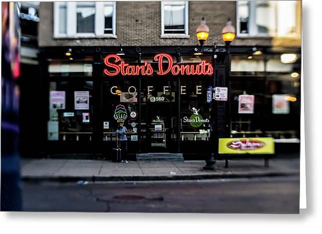 Famous Chicago Donut Shop Greeting Card