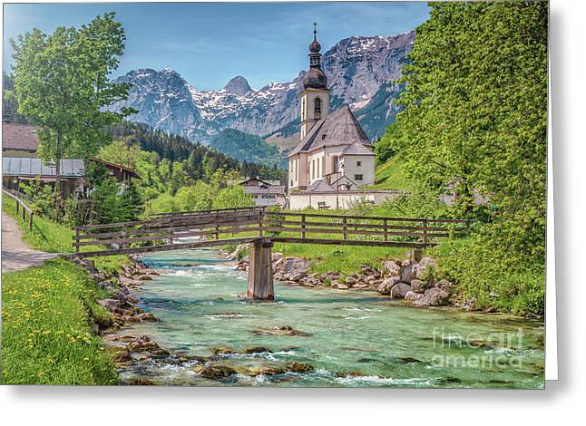Idyllic Place To Be Greeting Card by JR Photography