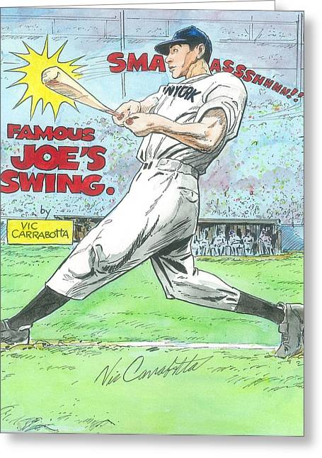 Famous Joes Swing Greeting Card