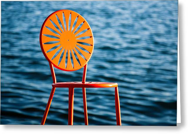 Fancy Chair Greeting Card by Todd Klassy