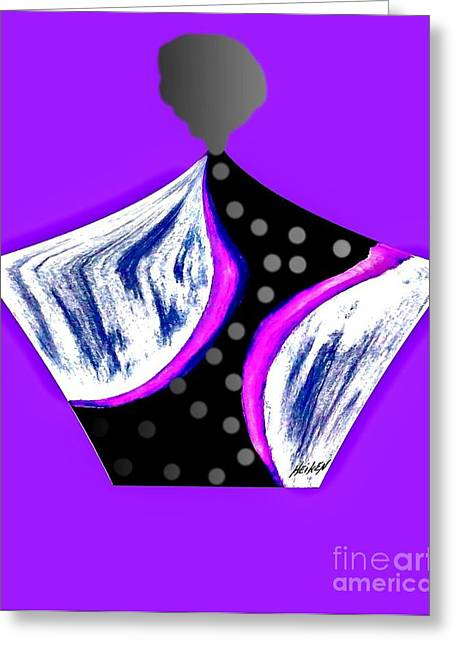 Fancy Parfum Bottle   Greeting Card by Marsha Heiken