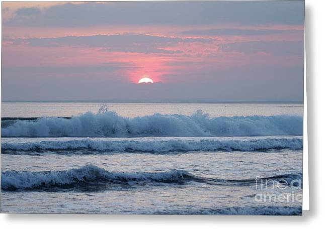 Fanore Sunset 1 Greeting Card