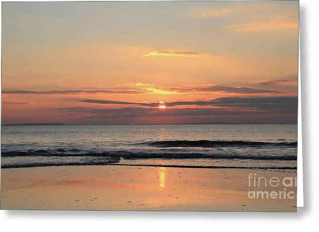 Fanore Sunset 3 Greeting Card