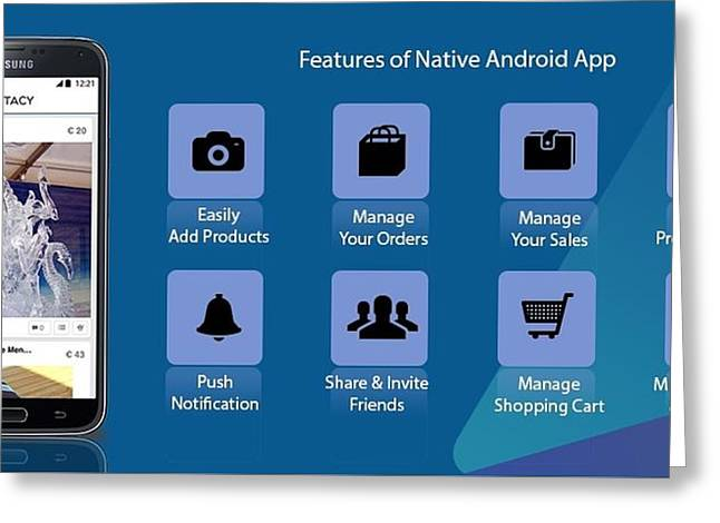 Android App Greeting Cards | Fine Art America