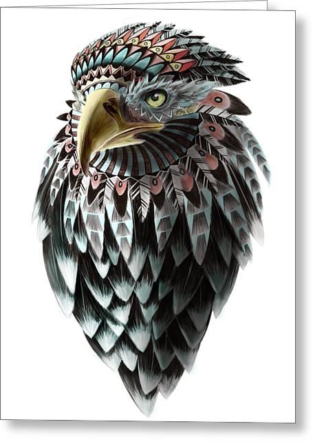 Fantasy Eagle Greeting Card