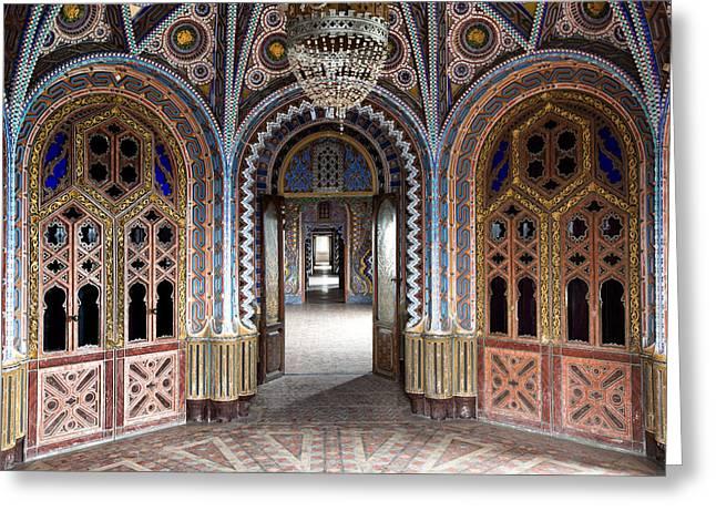 Fantasy Fairytale Palace - 1001 Nights Greeting Card by Dirk Ercken