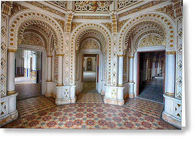 Fantasy Fairytale Palace - Urbex Greeting Card by Dirk Ercken