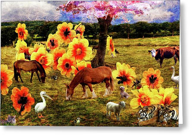 Fantasy Farm Greeting Card