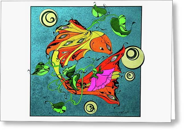 Fantasy Fish Greeting Card