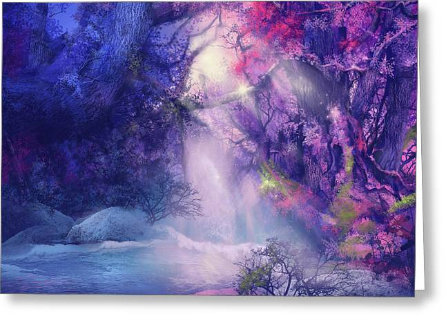 Fantasy Forest 5 Greeting Card