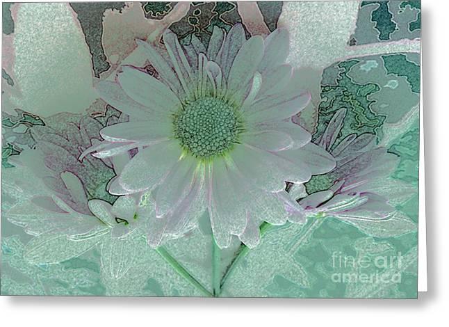 Fantasy Garden Greeting Card by Barbie Corbett-Newmin