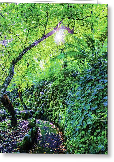 Fantasy Garden  Greeting Card