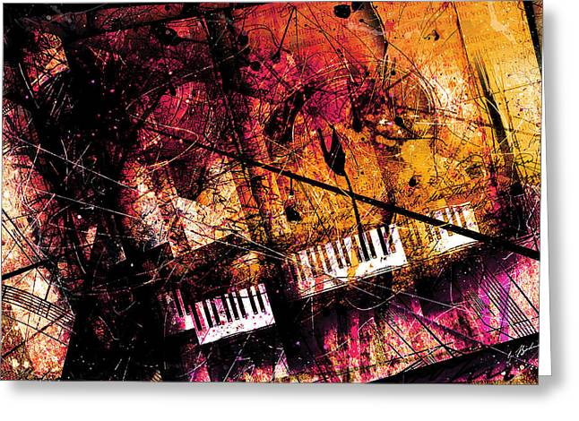 Fantasy In F Major Greeting Card