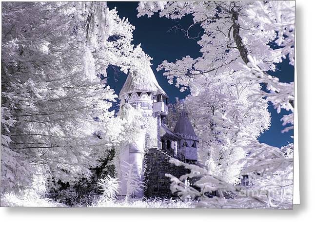 Fantasy In The Woods Greeting Card by Jeffrey Miklush