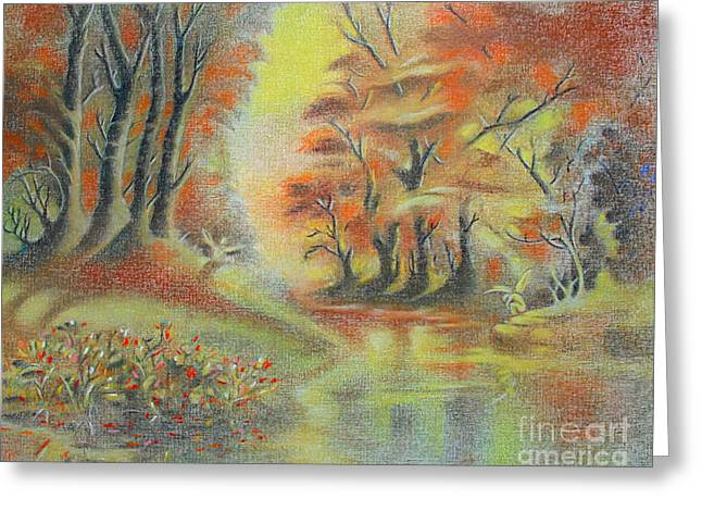 Fantasy Landscape Greeting Card