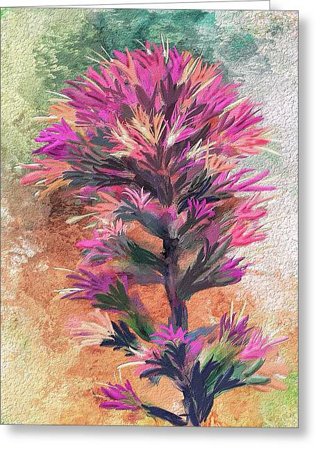 Fantasy Paintbrush Greeting Card