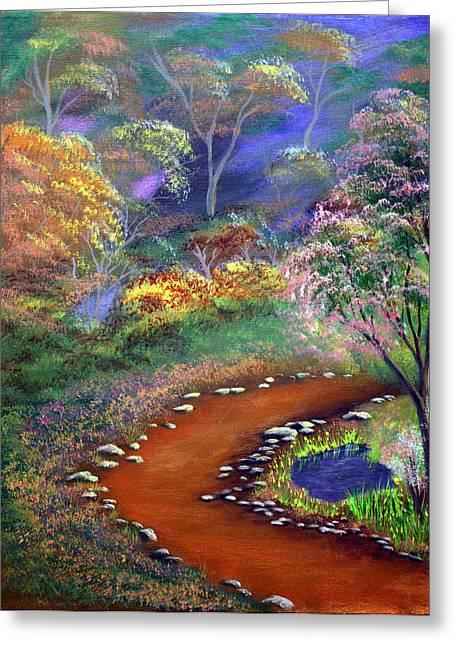 Fantasy Path Greeting Card