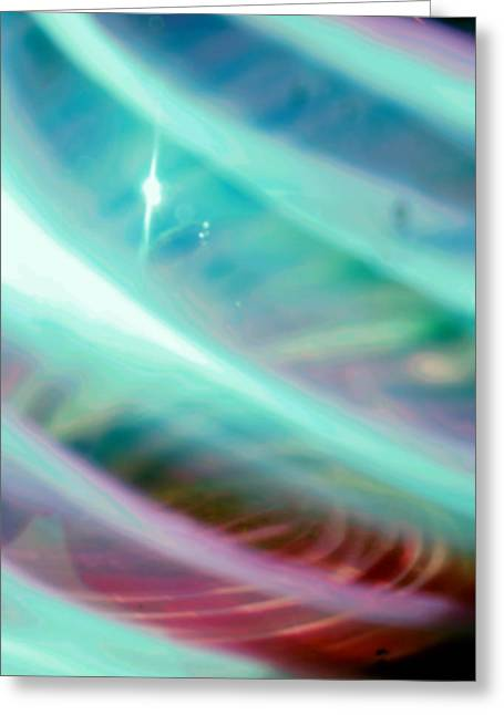 Fantasy Storm Greeting Card by Scott Wyatt