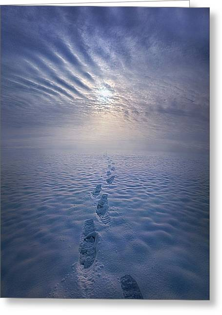 Far And Away Greeting Card by Phil Koch