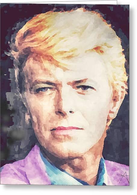 Farewell David Bowie Greeting Card