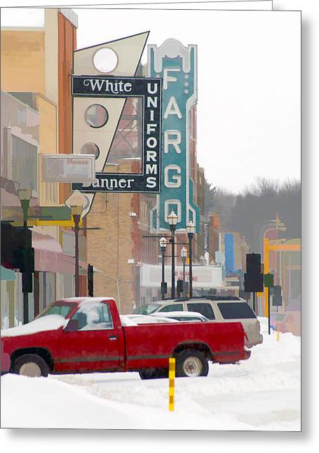 Fargo-1 Greeting Card